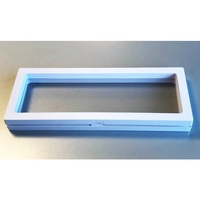 NEW Display Box with White Frame 23 x 9 cm (1pc)