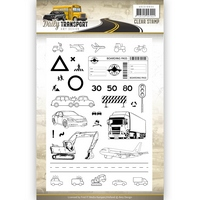 ROAD CONSTRUCTION ADD10130 AMY DESIGN DAILY TRANSPORT CUTTING DIE