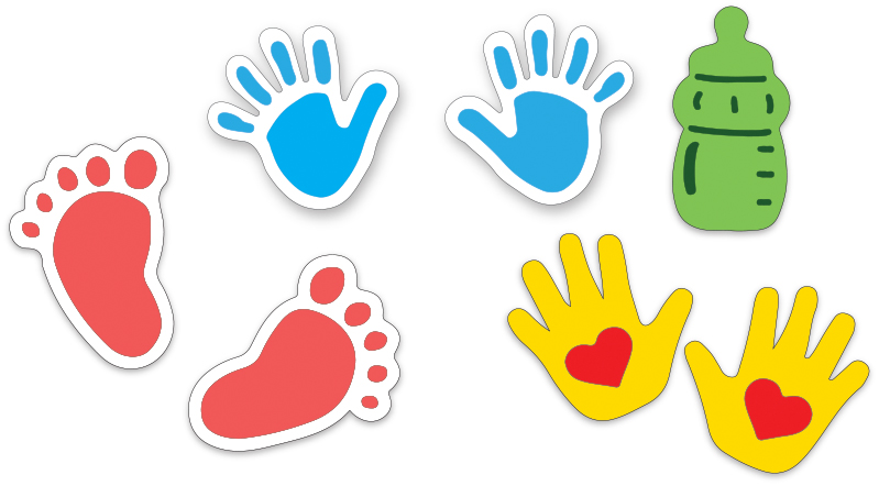 crafts too ltd presscut cutting and embossing stencils baby hands rh crafts too co uk