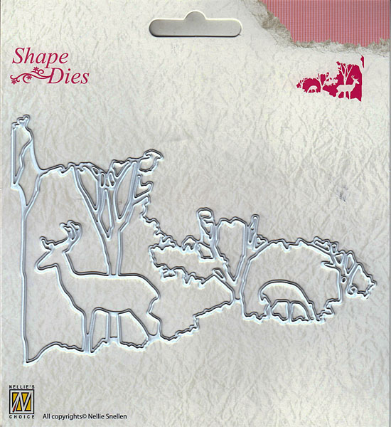 ... Too Ltd. NEW Nellie Snellen Shape Dies - Christmas Window Scene-2