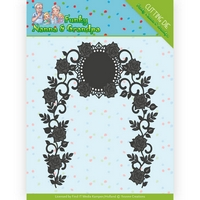 YVONNE CREATIONS Cutting Die FUNKY NANNA /&  GRANDPA COLLECTION Camper YCD10160